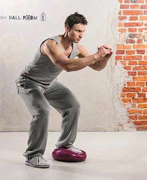 balanční podložka na cvičení