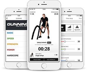 Gunex mobile app